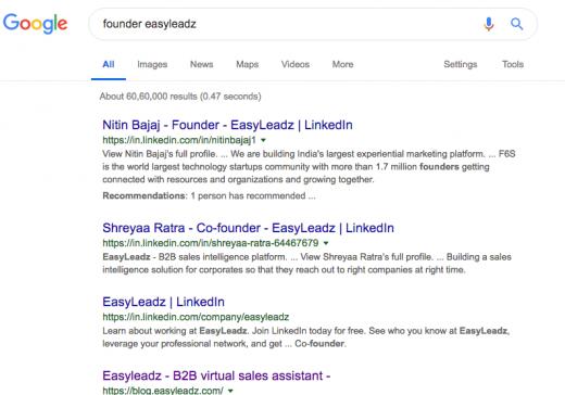 find email id easyleadz