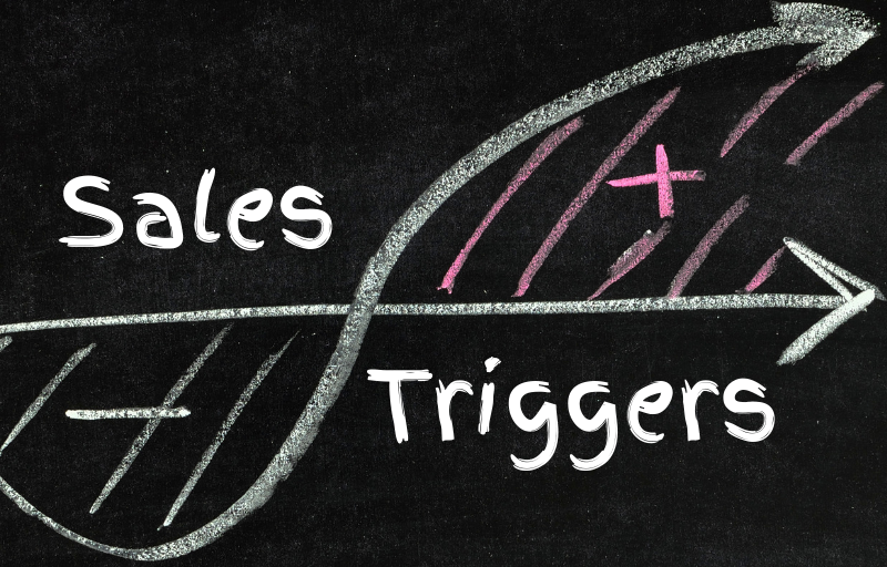 Top 5 sales triggers you can track easily and sell more.