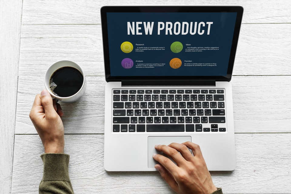 5 templates of email introducing a new product