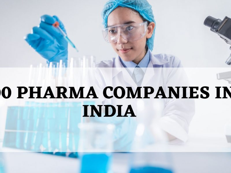 Top 100 Pharma companies in India